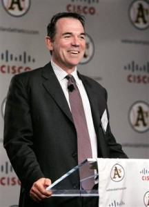 Billy Beane, Gerente General de los Atléticos de Oakland